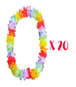 Pack 20 Collares Hawaianos