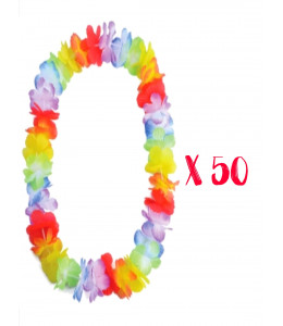 Pack 50 Collares Hawaianos