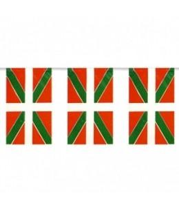 Banderines de Ikurriña de Plastico 50m