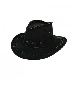 Sombrero Vaquero Negro Tejano Inf.