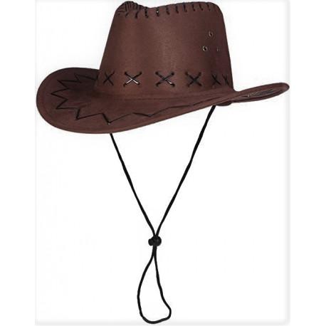 Sombrero Vaquero Marron Tejano  Infantil