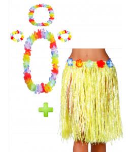 Conjunto Hawaiana Amarillo