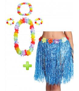 Conjunto Hawaiana Azul