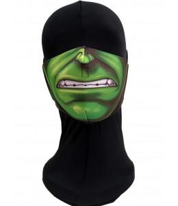 Mascarilla Monstruo Verde Adulto