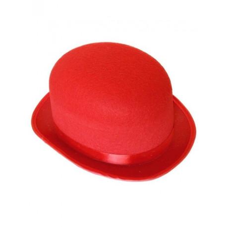 Bombin de Fieltro Rojo