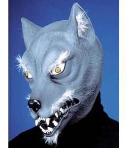 Mascara Lobo Gris