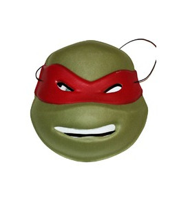 Mascara Tortuga Naranja