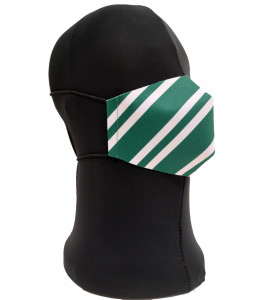 Mascarilla Corbata Verde Adulto