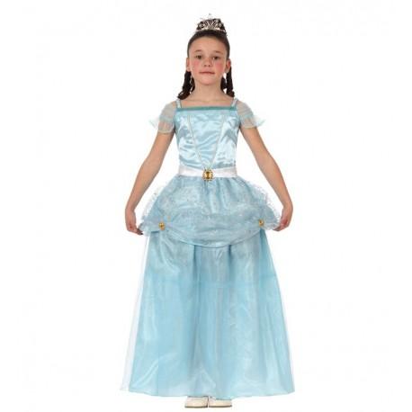 Disfraz de Princesa Azul Infantil