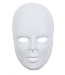 Mascara Blanca Adulto