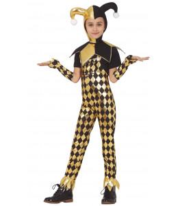 Disfraz de Dangerous Gliter Clown Infantil