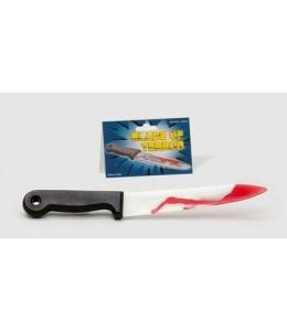 Cuchillo ensangrentado
