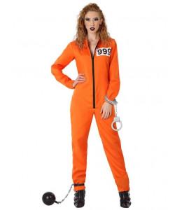 Disfraz de Convicta Naranja