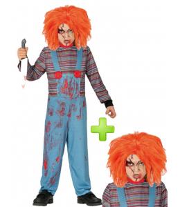Disfraz de Muñeco Diabolico niño