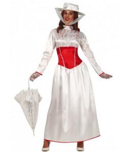 Disfraz de Niñera Blanca