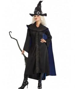 Disfraz de bruja negra mujer