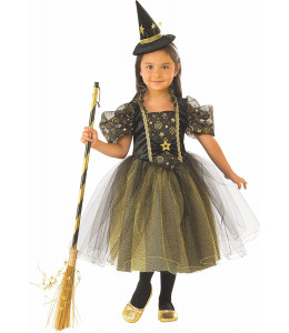 Disfraz de Bruja Estrellitas Infantil