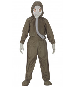 Disfraz de Buzo Bioquimico Nuclear Infantil
