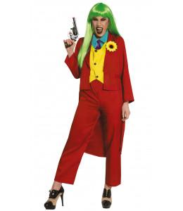 Disfraz de Joker Smile Mujer