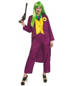 Disfraz de Joker Morado Mujer