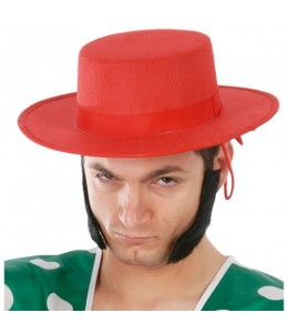 Sombrero Cordobes rojo