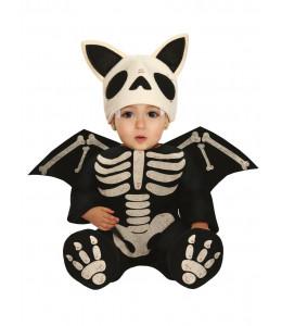 Disfraz de Murcielago Esqueleto Bebe