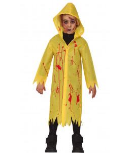 Disfraz de Chubasquero Sangrienteo Infantil