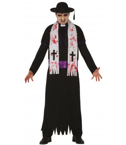Disfraz de Cura Exorcista