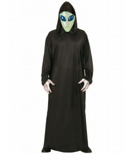 Disfraz de Alien Verde Tunica