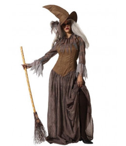 Disfraz de Bruja Marron