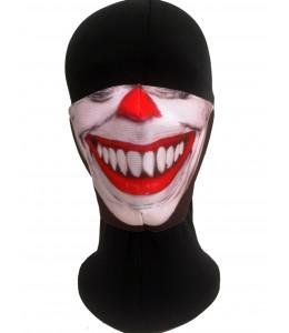 Mascarilla Halloween Payaso Asesino Sonrisa Adulto