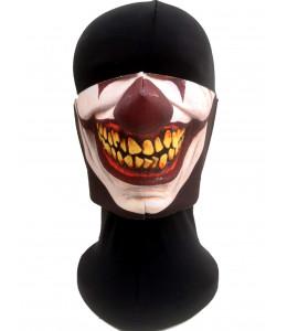 Mascarilla Halloween Payaso Asesino Oscuro  Adulto