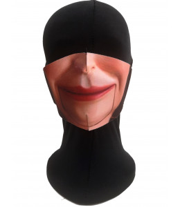 Mascarilla Halloween Marioneta Adulto