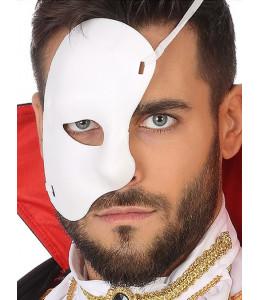 Media Mascara Blanca