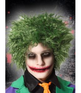 Peluca Joker Verde Despeinada
