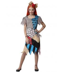 Disfraz de Muñeca Parches Infantil