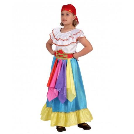 Disfraz de Zingara Infantil