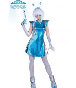 Disfraz de Galactica Azul