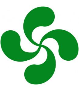 Vinilo Lauburu Verde