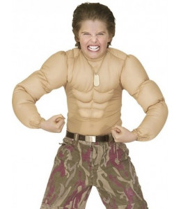 Camisa Musculos Infantil