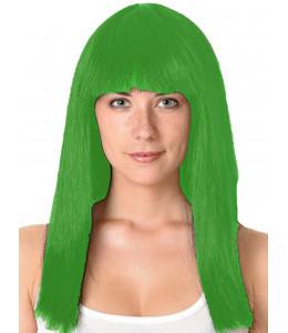 Peluca Melena Cleopatra Verde