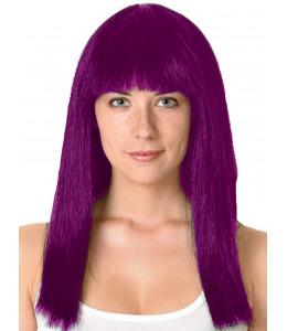 Peluca Melena Cleopatra Purpura