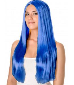 Peluca Melena Azul oscuro
