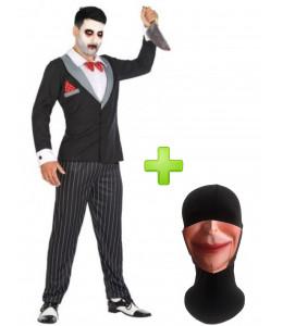 Disfraz de Marioneta Titere con mascarilla - Disfraces Halloween