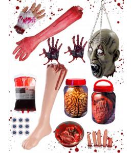 Decoracion Halloween Sangrienta Deluxe