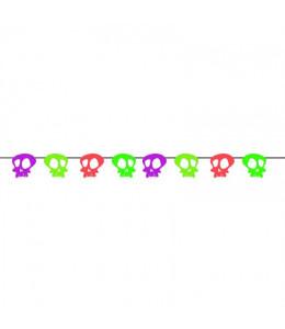 Guirnalda Calaveras de Neon