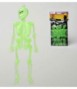Guirnalda Esqueletos Fluorescente