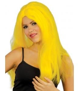 Peluca Melena Amarilla
