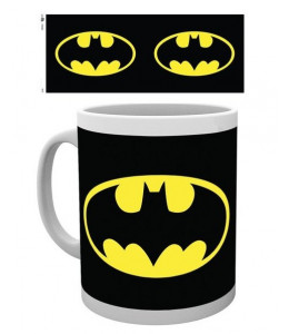 Taza Batman Logo DC Comics