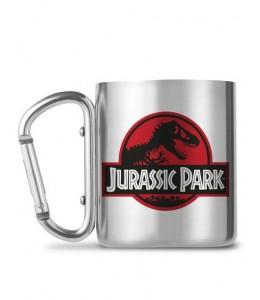 Taza Jurassic Park Logo Acero Inoxidable